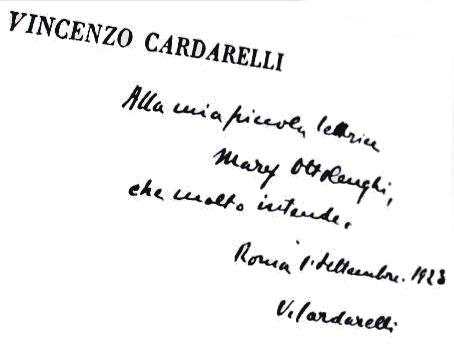 Cardarelli Vincenzonazareno Caldarelli